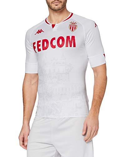 Kappa Kombat Pro 2021 Third Monaco Camiseta, Hombre, Blanco, Medium