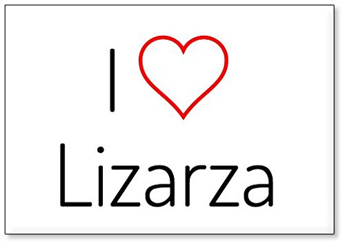 Mundus Souvenirs - Amo Lizarza, Imán para Nevera (diseño 3)
