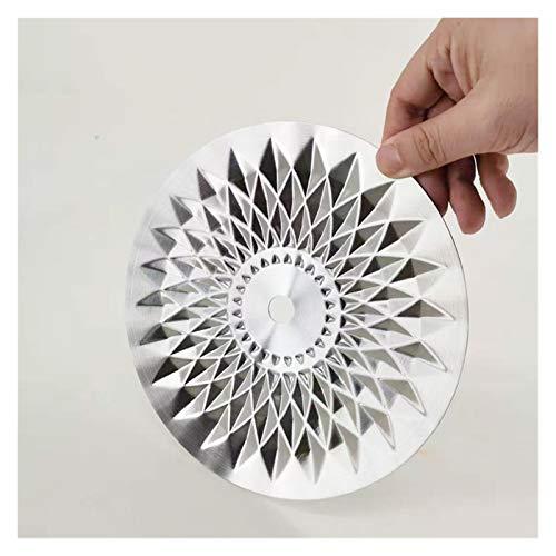 XIAOFANG Hookah Shisha Bandeja de Metal Accesorios de cachimba 1pc Hookah cenicero Shisha Bandeja de carbón para la Placa de Chicha Nargile Fumar Accesorios (Color : Silver)