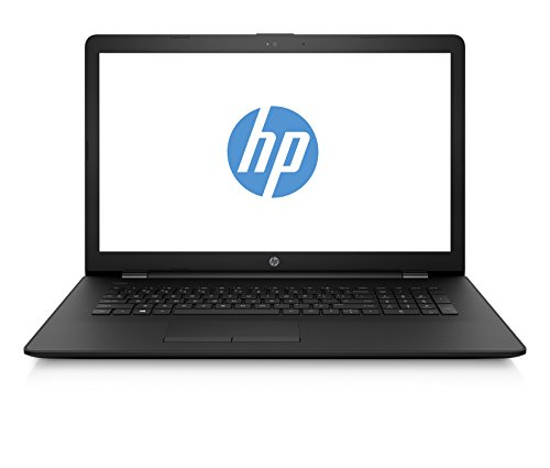 HP 17-ak055ng (17,3 Zoll / HD+) Laptop (AMD A9-9420 APU, 1 TB HDD, 128 GB SSD, 8 GB RAM, AMD Radeon 530 2 GB, DVD-RW, Windows 10 Home 64) schwarz