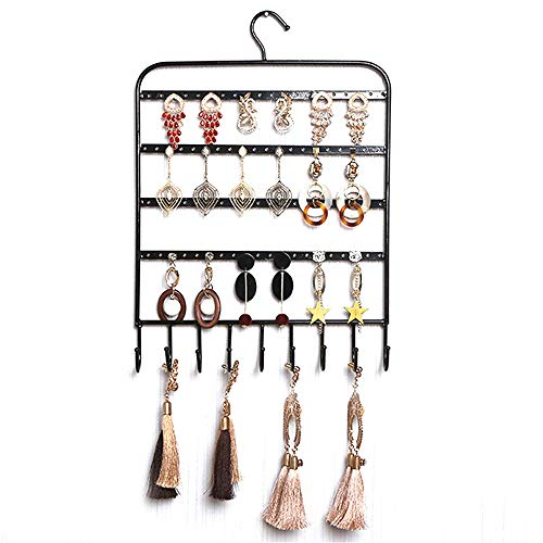 QiHaoHeji Sieraden Rek Oorbellen Sieraden Opbergtas Ketting Hanger Wandplank Klassieke Display Stand Oorbellen Ketting Armband Ring