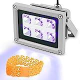 3D Printer UV Resin Curing Light for SLA/DLP 3D Printer Solidify Photosensitive Resin 405n...