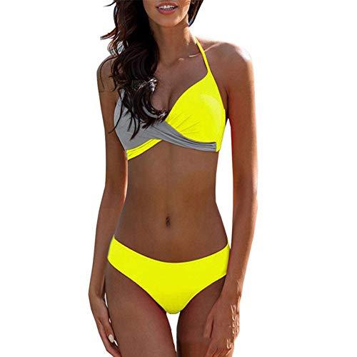 costume da bagno donna gucci Costumi da Bagno Donna Due Pezzi Costume Mare Push up Sexy Set Bikini Donna Due Pezzi Swimwear Abiti da Spiaggia