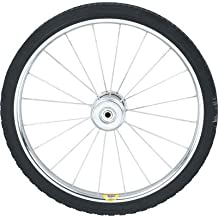 Ironton 20in. Solid Rubber Spoked Wheel