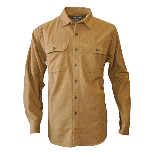 Arborwear 205162 Men's Timber Chamois Shirt, Chickory - X-Large