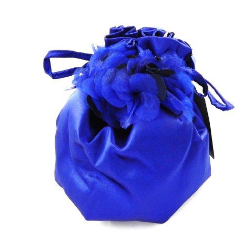 Les Trésors De Lily [H4105] - Sac Bourse de cérémonie 'Nina' bleu nuit