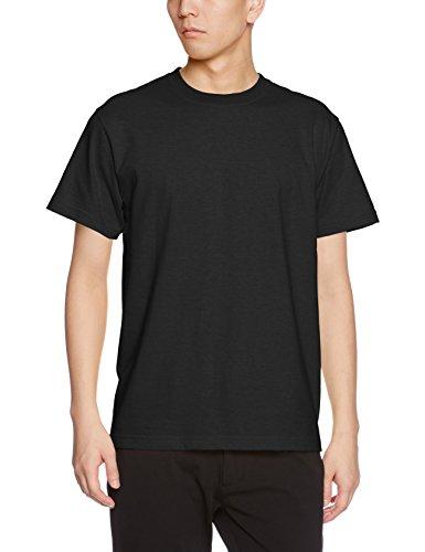 (ユナイテッドアスレ)UnitedAthle 5.6オンス ハイクオリティー Tシャツ 500101 002 ブラック XXL