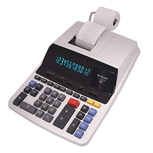Sharp Electronics Standard Function Calculator (EL2630PIII), White, 8 7/8 x 12 7/8