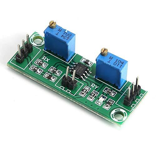 Lazmin LM358 Signalverstärkermodul, 2 STK. 3,5-24 V Schwachsignal- und Spannungsverstärker 15-20 MA Leistungssignalsammler für Gleichstromimpulse