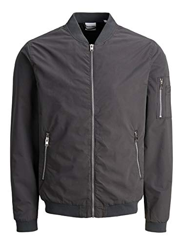 JACK & JONES Male Jacke Bomber LAsphalt