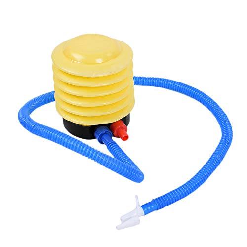 WNFDH Fußluftpumpe-Kunststoffbalg Fußpumpe-Vorderkugel Schwimmring Yacht oder Ballon Fußkissen Schwimmring Handpumpe