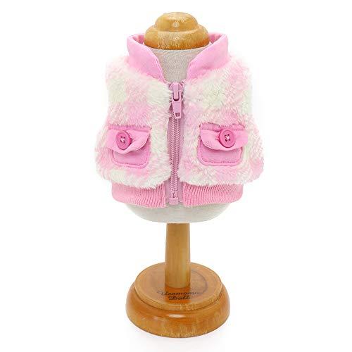 マザーガーデン Mother garden うさももドール 着せ替え人形用服 《ボアベスト》 Mサイズ用 お人形遊び きせかえ ドール 着せ替え服