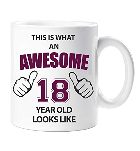 Genial 18 Años Taza 18th Regalo Cumpleaños Regalo