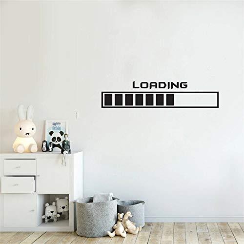 Juego de vinilo adhesivo para pared juego Joystick diseño de pared tatuaje de pared protección creativa de animales salvajes