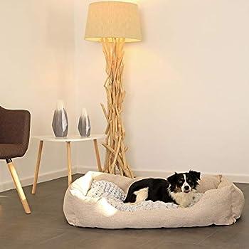 dibea Lit pour chien coussin réversible panier chiens différentes tailles et couleurs