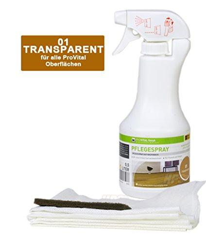 Weitzer Provital Pflegespray Parkettpflege - Parkettpflegemittel für geölte Parkettböden
