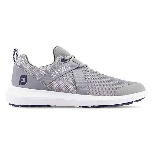 Footjoy Fj Flex Chaussures de Golf pour Homme, Gris (Gris),...