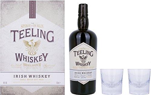 Teeling Irish Whiskey Small Batch Rum Cask Finish mit Glas (1 x 0.7 l)