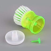 Kitchen Tool Pot Brush Scrubber Cleaner Pot Brush Automatic Liquid Adding Exquisitely Designed Durable Gorgeous