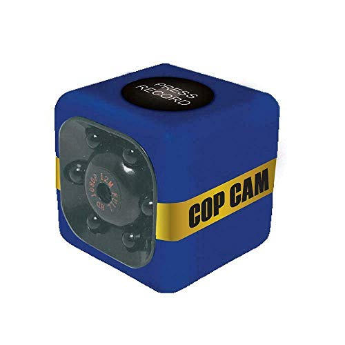 EASY E Kart Cop Cam Mini Security Camera, Wireless Security Camera, Dash Cam, and Action Cam with 8GB Memory car Included