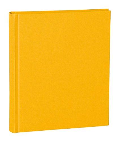 Semikolon Fotoalbum, gebundenes Leinen, Medium, sonnengelb, M