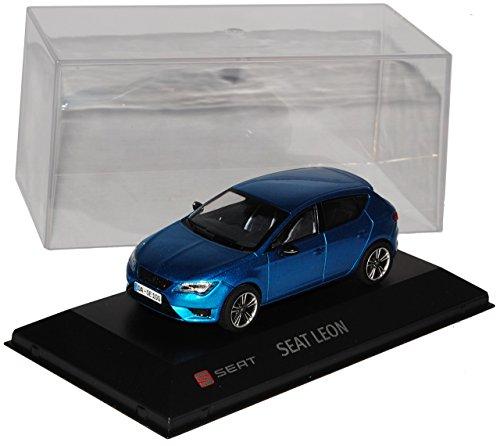 Seat Leon Cupra 280 Blau 5 Türer Ab 2012 1/43 Modellcarsonline Modell Auto