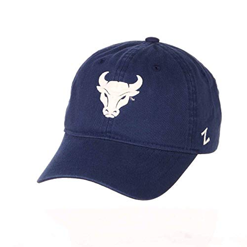 Zephyr Adult NCAA All-American Relaxed Adjustable Hat (Buffalo Bulls - Royal)