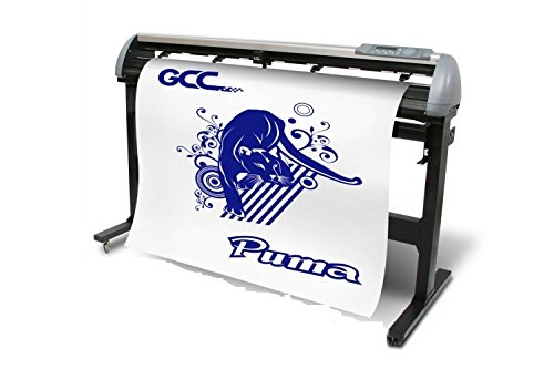 GCC Puma IV Professional Elite 52 Inch Vinyl and Heat Transfer Cutter with Stand
