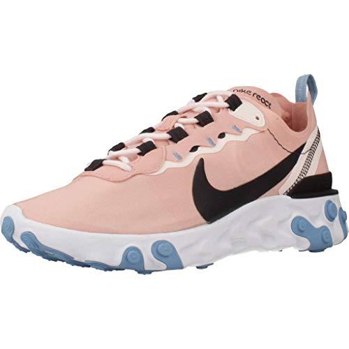 Nike Damen Laufschuhe, Farbe Pink, Marke, Modell Damen Laufschuhe React Element Pink
