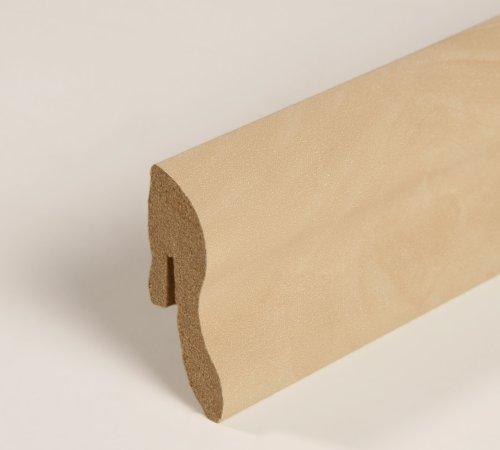 25m Sockelleisten All Inclusive Paket Ahorn natur