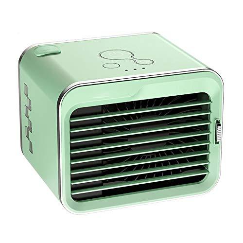 PersöNliche PersöNliche Ventilatoren, Tragbare Mini-RaumküHler-Klimaanlage, Desktop-Ventilator Mit 3-Gang-Windregelung, Geeignet FüR Zuhause, BüRo, Schlafsaal