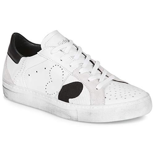 Felmini Fame Sneaker Damen Weiss/Schwarz - 40 - Sneaker Low Shoes