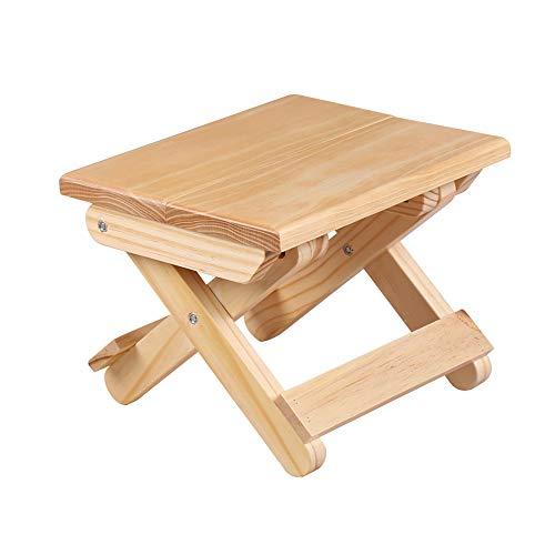 Folding Chairs Tabourets pliants ménage tabourets Bas Enfants Petit Banc Tabouret carré Portable Tabouret de pêche Adulte Petit Tabouret en Bois
