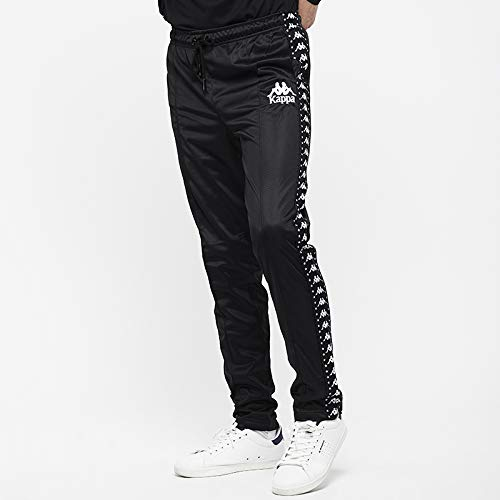 Kappa Anac Authentic P Pantalón, Hombre, Negro (Black/White), S