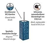 Immagine 1 wenko portascopino wc cordoba blu