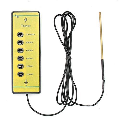 AKDSteel Testeur de tension pour clôture électrique 1000 V à 10000 V Électrificateur de fil pour clôture électrique
