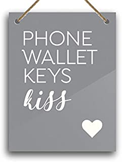 "6x8"" Cute Home Decor Phone Wallet Keys Kiss"