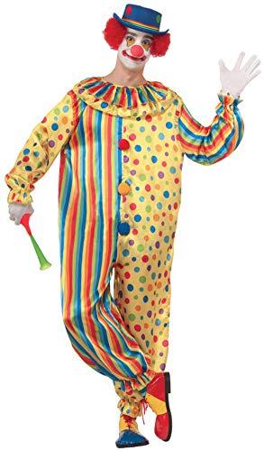 Forum Novelties Spots The Clown Costume, Multi, Standard