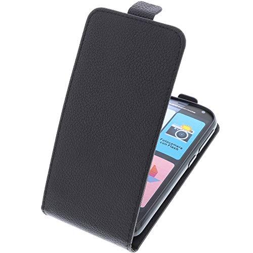 foto-kontor Tasche für Brondi Amico Smartphone Smartphone Flipstyle Schutz Hülle schwarz