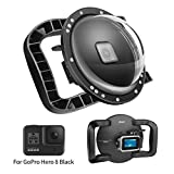 SHOOT Dome Port Lens(7th Gen) for GoPro HERO8 Black - Dual Handle Stabilizer...