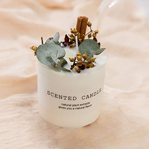 Premium Hand Poured Soy Candles | Verbena Rosewood Scented Candles 10 oz | A Beautiful Pairing of Bergamot & Orange | 45 Hour Burn, Long Lasting, Highly Scented | Relaxing Aromatherapy Candle