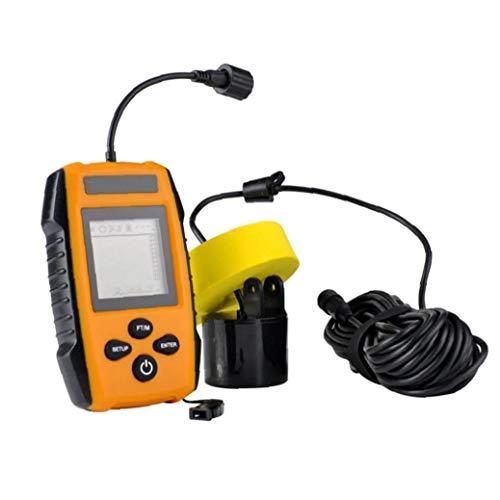 Liadance Buscador De Los Pescados De Mano Portable De La Pesca Sonar Sonda Sensor para La Detección De Orange Fish Depth