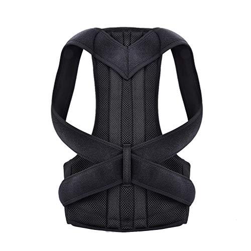 ⚡Rücken Haltungskorrektur, Rückenbandage Rückenstütze Rücken Geradehalter Schulter Posture Corrector Haltungstrainer Für Damen, Herren und Child, Verstellbar & Atmungsaktiv , S-XXXL ⚡ (XXXL, Schwarz)