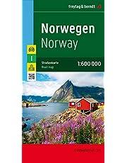 F&B Noorwegen: Wegenkaart 1:600 000: AK 0659