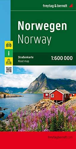 Noruega, mapa de carreteras. 1:600.000. Freytag & Berndt.: Wegenkaart 1:600 000: AK 0659 (Auto karte)