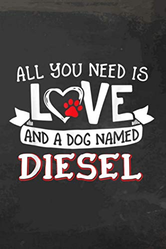 All You Need Is Love And A Dog Named Diesel Daily Fitness Sheet