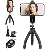 Yotocversion Flexible Cell Phone Tripod with Wireless Remote Shutter