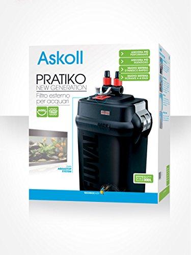Askoll Pratiko 300 New Generation - Filtro Esterno per Acquari fino a 300 Litri