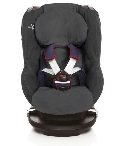 Wallaboo Maxi-Cosi Tobi Hoes voor autostoel, zwart
