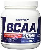 Energybody BCAA DRINK Dose rote Früchte, 500 g